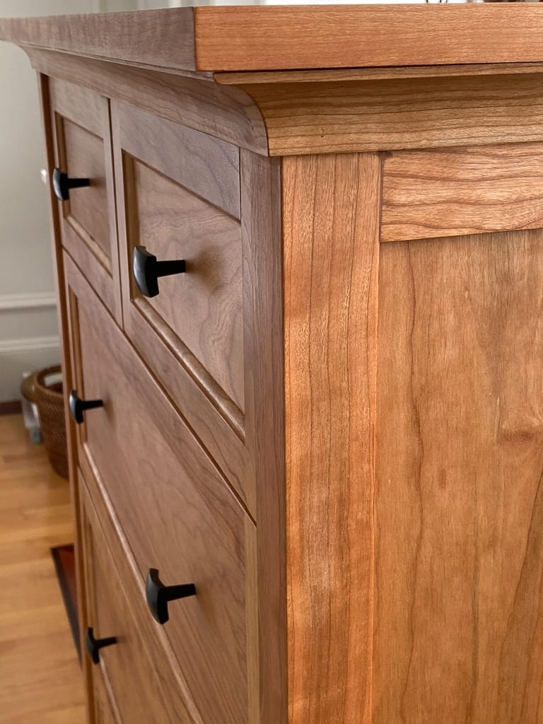 Custom-designed Cherry Dresser