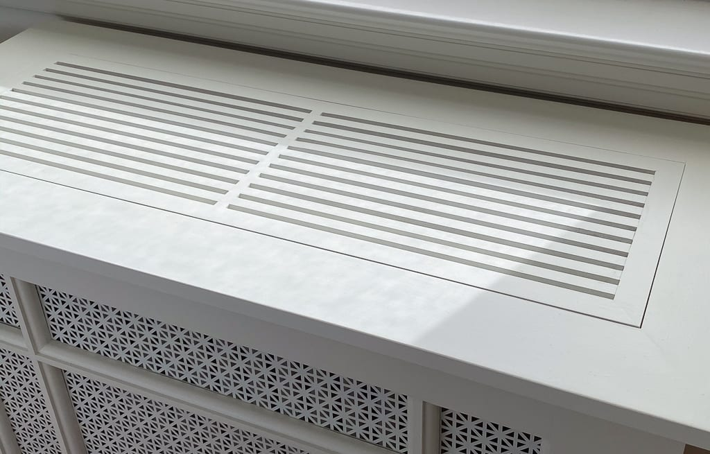 Custom-designed Radiator Cover